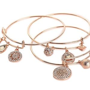 Kelly & Katie Rose-Gold Charm Bracelet